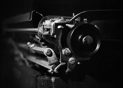 Cactus - Vintage Typewriter - 6 by Rudy Umans