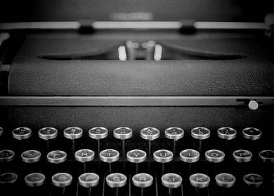 Antlers - Vintage typewriter-9 by Rudy Umans