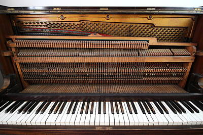Photograph - Vintage Upright Piano Number 1 by Tom Conway