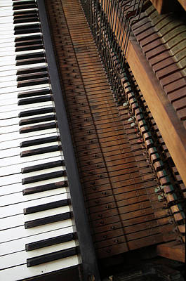 Photograph - Vintage Upright Piano Number 3 by Tom Conway