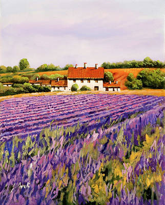 Works Progress Administration Posters - Viola Lavanda by Guido Borelli