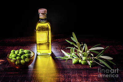 License Plate Skylines And Skyscrapers Rights Managed Images - Virgin olive oil is extracted from green olives that grow in oli Royalty-Free Image by Joaquin Corbalan