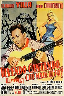 Royalty-Free and Rights-Managed Images - Vivendo Cantando, with Claudio Villa, 1957 by Stars on Art