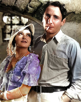 Royalty-Free and Rights-Managed Images - Vivienne Osborne and Victor Jory by Stars on Art