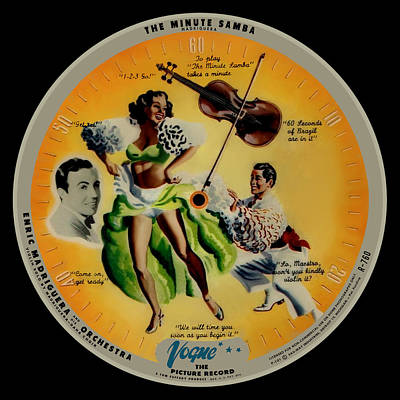 Beastie Boys - Vogue Record Art - R 760 - P 101 - Square Version by John Robert Beck