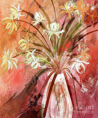Digital Art - Volcano Flowers  by Lois Bryan