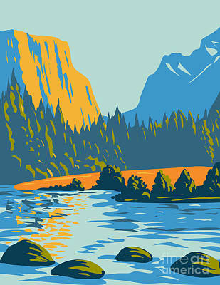 The Champagne Collection - Voyageurs National Park Located in Northern Minnesota near the Canadian Border WPA Poster Art by Aloysius Patrimonio