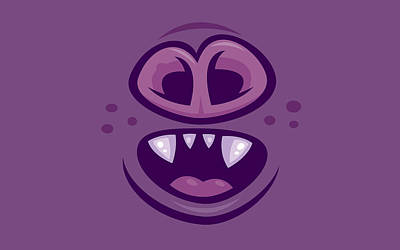 Royalty-Free and Rights-Managed Images - Wacky Vampire Bat Mouth and Nose by John Schwegel