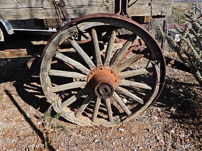 Marvelous Marble - Wagon Wheel DSCN0881 by Michael Peychich