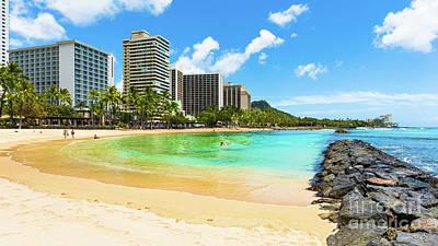 Travel - Waikiki Kuhio Beach by Phillip Espinasse