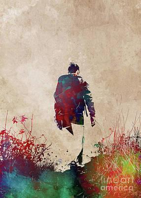 Digital Art - Walk In The Mountains #mountainhike by Justyna Jaszke JBJart