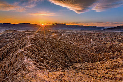 Kitchen Mark Rogan - Walk to the Sun in the Anza-Borrego by Peter Tellone