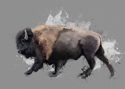 Everett Collection - Walking Buffalo V3 by Bekim M