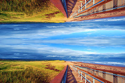 Photograph - Walking into a ... by Mediamerge - Dan Roitner