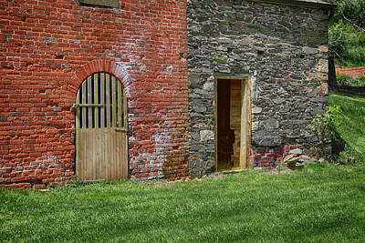 Photograph - Walls and Doors by Anthony M Davis