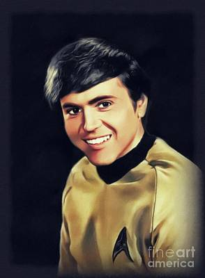 Mellow Yellow Rights Managed Images - Walter Koenig, Actor Royalty-Free Image by John Springfield
