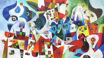 Painting - Wanderlust by Miljenko Bengez