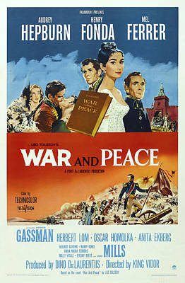Royalty-Free and Rights-Managed Images - War and Peace 4, with Audrey Hepburn and Henry Fonda, 1956 by Stars on Art