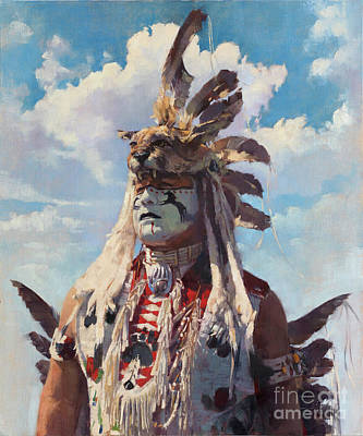 Painting - War Dancer by Patrick Saunders