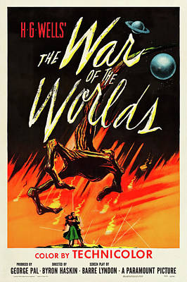 Granger - War of the Worlds, by H.G. Wells, 1953 by Stars on Art