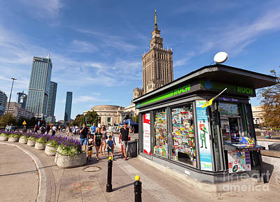 Royalty-Free and Rights-Managed Images - Warsaw by Bill Robinson