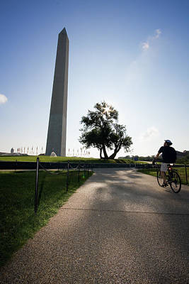 Transportation Royalty-Free and Rights-Managed Images - Washington Monument - 5 by Riccardo Forte