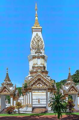 Photograph - Wat Maruk Khanakhon Phra That Maruk Khanakhon Chedi DTHNP0048 by Gerry Gantt