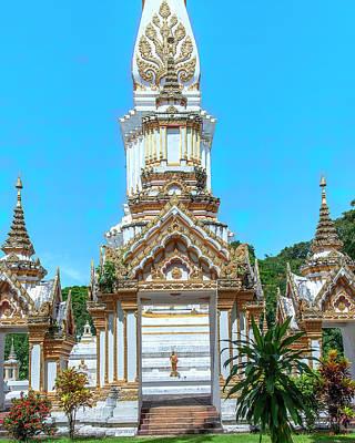 Photograph - Wat Maruk Khanakhon Phra That Maruk Khanakhon Chedi DTHNP0050 by Gerry Gantt