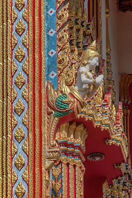 Anne Geddes Florals - Wat Nong Ja Bok Phra Ubosot Kinaree DTHNR0248 by Gerry Gantt