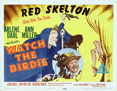 Royalty-Free and Rights-Managed Images - Watch the Birdie, with Red Skelton and Arlene Dahl, 1950 by Stars on Art