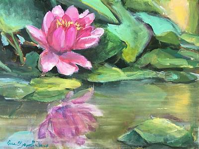 Susan Elizabeth Jones Royalty-Free and Rights-Managed Images - Water Lily by Susan Elizabeth Jones