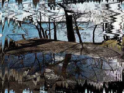 Photograph - Water Mirror by Asa Spang Frolund