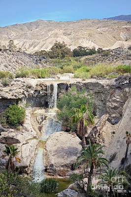 Photograph - Waterfall in Almeria by Beautiful Things