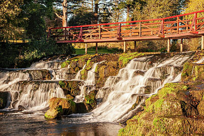 Wilderness Camping - Waterfall on the Rye Water - County Kildare, Ireland by Barry O Carroll