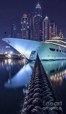 Thomas Kinkade Rights Managed Images - Waterfront  Royalty-Free Image by EliteBrands Co