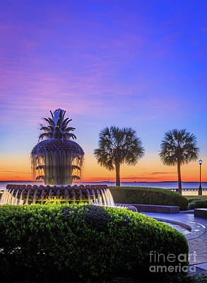 Royalty-Free and Rights-Managed Images - Waterfront Park Dawn by Inge Johnsson