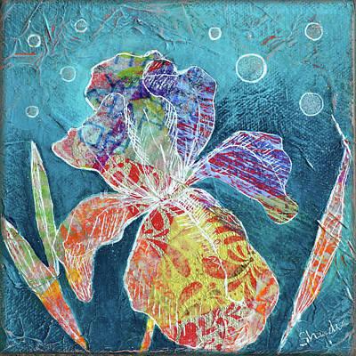 Painting - Watery Iris II by Shadia Derbyshire