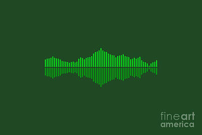 Royalty-Free and Rights-Managed Images - Waveform Vector by THP Creative