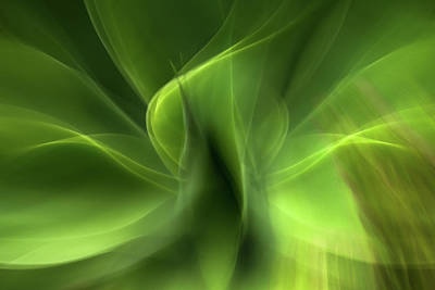 Vermeer Rights Managed Images - Waves of Green Royalty-Free Image by Linda Villers