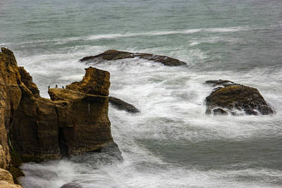 Royalty-Free and Rights-Managed Images - Waves off Devils Churn by Jeff Swan