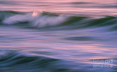 Royalty-Free and Rights-Managed Images - Waves Water and Light In Motion by Mike Reid