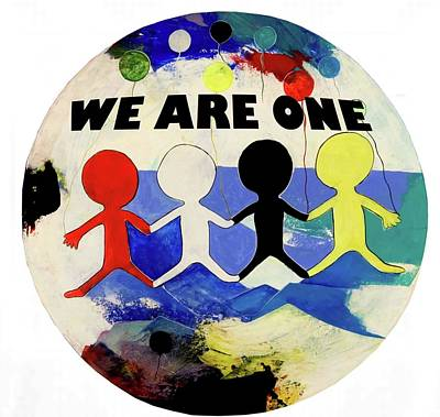 Painting - We Are One by Domingo Domingo