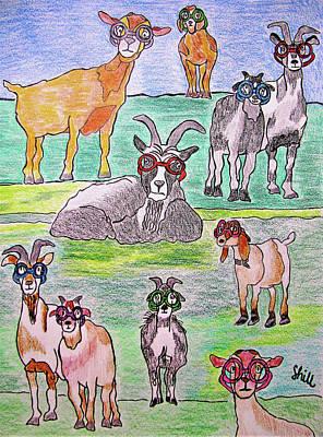 Safari - We Wear Designer Glasses by Sharon Hill