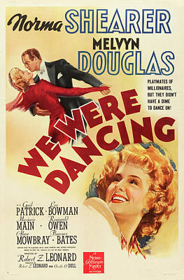 Royalty-Free and Rights-Managed Images - We Were Dancing, with Norma Shearer and Melvyn Douglas, 1942 by Stars on Art