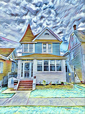 Surrealism Royalty-Free and Rights-Managed Images - Welcome Home by Surreal Jersey Shore