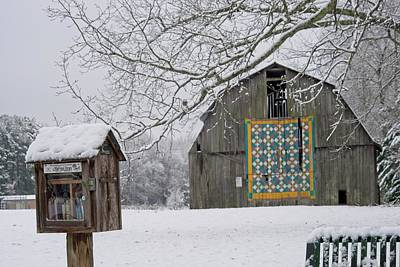 Sheep - Welcome Quilt Barn by Douglas Barnett