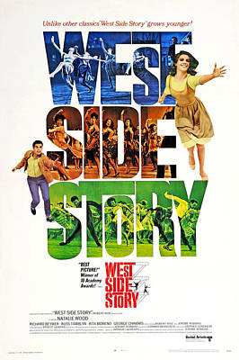 Granger - West Side Story, with Natalie Wood, 1961 by Stars on Art