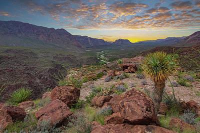 Thomas Kinkade Royalty Free Images - West Texas Sunset 1121 Royalty-Free Image by Rob Greebon