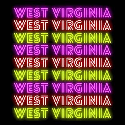 Caravaggio - West Virginia Retro Neon Sign by Aaron Geraud
