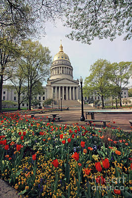Rose - West Virginia State Capitol 2170 by Jack Schultz